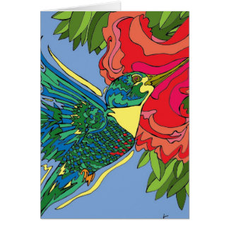 Cartes Oiseau de ronflement