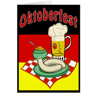 Cartes Oktoberfest Allemagne
