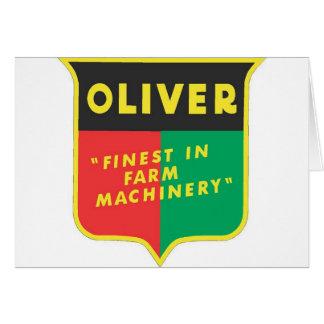 Cartes Oliver