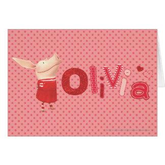 Cartes Olivia - 1