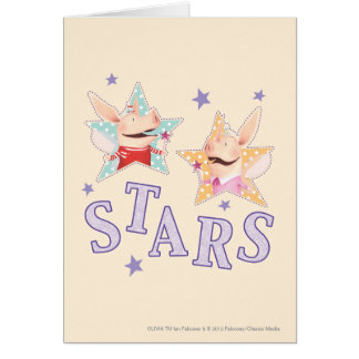 Cartes Olivia - étoiles