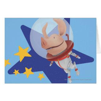 Cartes Olivia l'astronaute