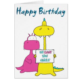 Cartes Oncle de joyeux anniversaire