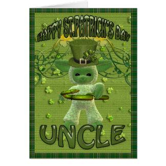 Cartes Oncle du jour de St Patrick