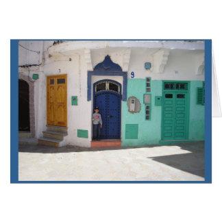 Cartes ont miaulé la vue sur le chapitre 4 du Maroc
