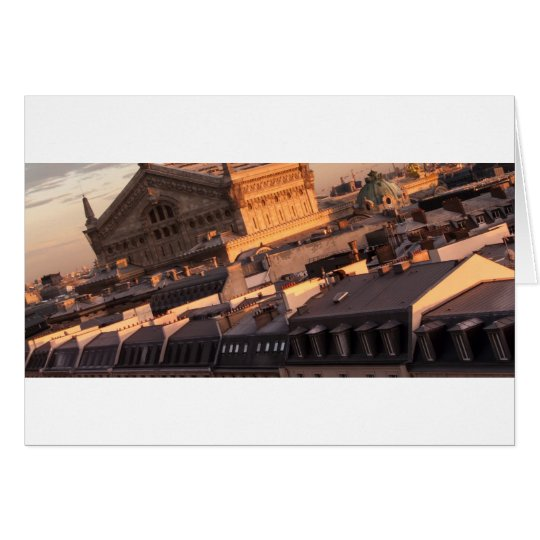 Cartes Opéra Garnier, Paris, France