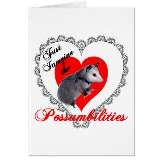 Cartes Opossum de Valentine