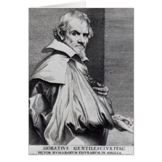 Cartes Orazio Gentileschi, de van Dyck's