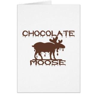 Cartes Orignaux de chocolat