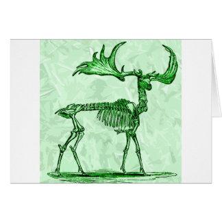 Cartes orignaux squelettiques