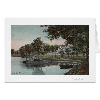 Cartes Orlando, la Floride - vue d'une crique au lac