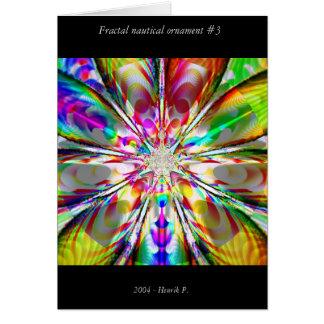 Cartes Ornement nautique #3 de fractale