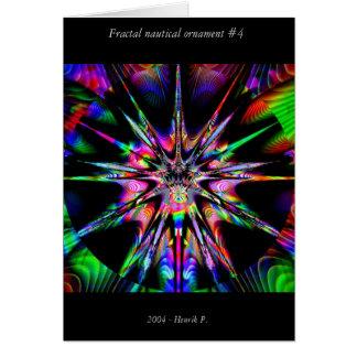 Cartes Ornement nautique #4 de fractale