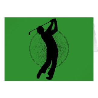 Cartes Oscillation de golf