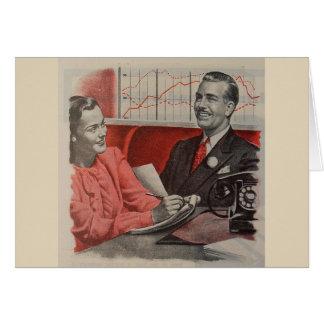 Cartes Oubliez le bureau Romance,