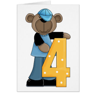 Cartes Ours 4 ans