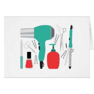 Cartes Outils de cosmétologie