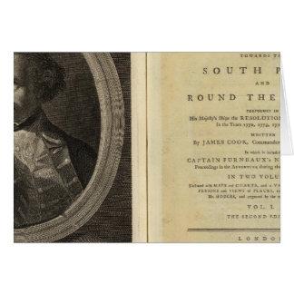 Cartes Page titre du voyage vers le Pôle du sud