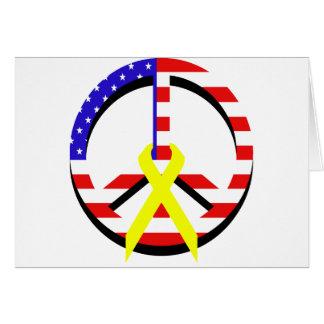 Cartes Paix de drapeau