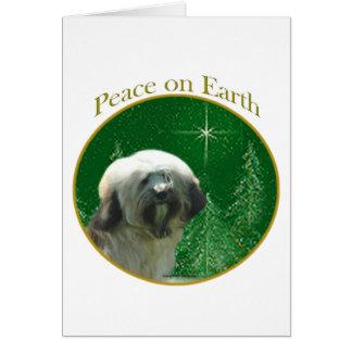 Cartes Paix de Terrier tibétain