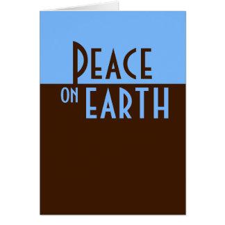 Cartes Paix sur terre