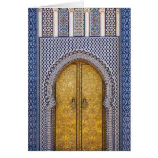 Cartes Palace Ornate Doors des Rois