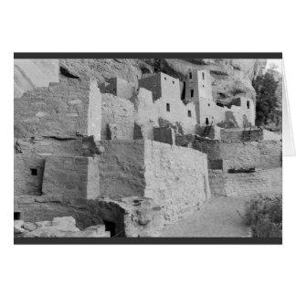 Cartes Palais de falaise, parc national de MESA Verde