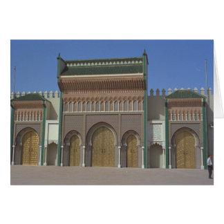 Cartes Palais, Fez, Maroc, Afrique
