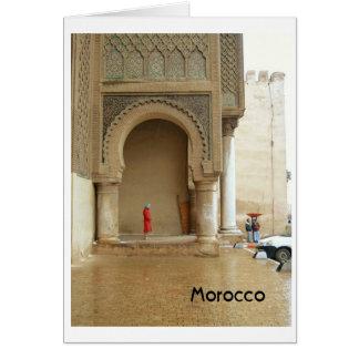 Cartes Palais Maroc de Marrakech