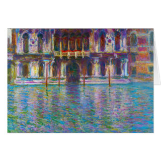 Cartes Palazzo Contarini Claude Monet