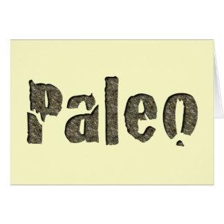 Cartes Paleo dans la pierre