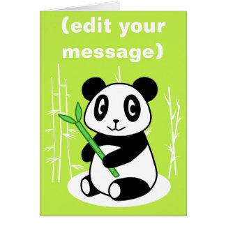 Cartes Panda