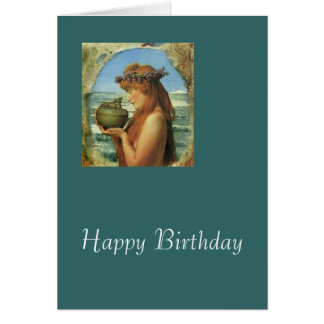 "Cartes ""Pandore"" par Alma-Tadema"