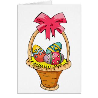 Cartes Panier de Pâques