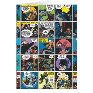 Cartes Panneau comique 5x5 de Batman