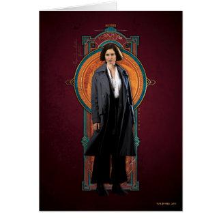 Cartes Panneau d'art déco de Porpentina Goldstein