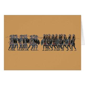Cartes Panoplie - bataille de hoplite du grec ancien
