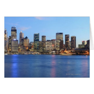 Cartes Panorama de pont de port de Sydney au crépuscule