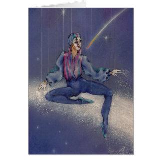 Cartes - pantomime cosmique