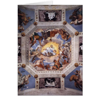 Cartes Paolo Veronese : Pièce d'Olympe
