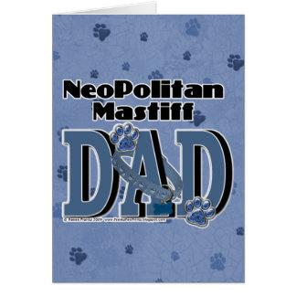Cartes PAPA de mastiff de Neopolitan