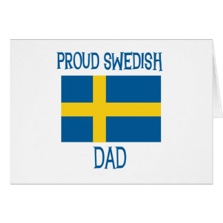 Cartes Papa suédois fier