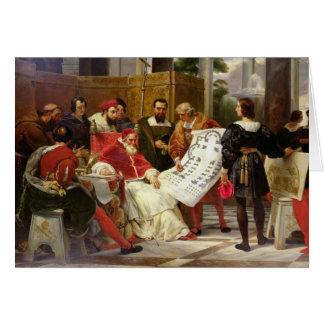 Cartes Pape Jules II Bramante de commande