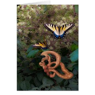 Cartes Papillon-Bonheur dans la transformation