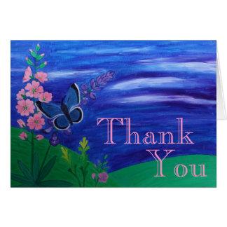 Cartes Papillon de Merci