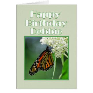 Cartes Papillon de monarque de Debbie de joyeux