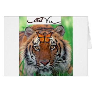 Cartes Papillon de monarque de tigre d'Ed vu