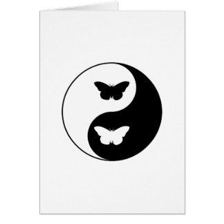 Cartes Papillon de Yin Yang