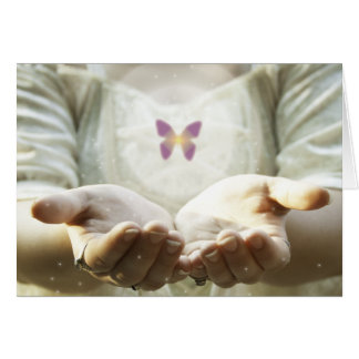Cartes Papillon mystique