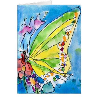 Cartes Papillon par Jeffrey Shutt, âge 6